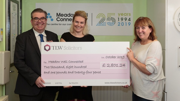 TLW Solicitors raises £2,801.24  from charity gala